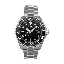 Grand Seiko Spring Drive Steel Mens Bracelet Watch Date SBGA229