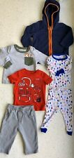 Lot Of 6 Different Pieces 9 Month Baby Boy Infant Pajamas, Sweater, Shirts, Pant