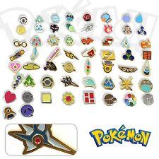 Hot Otaku Anime Pocket Monster Pokemon Gym Badges Set of 58 Metal Pins Gifts