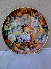 """Franklin Mint """" Scaredy Cats """" Numbered Plate"""