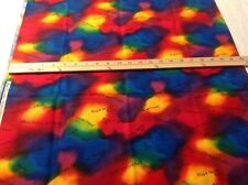 1 yd Laurel Burch Holiday Collection fabric Beautiful Sayings