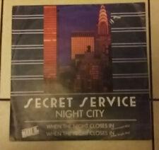 Secret Service – Night City - TELDEC  6.20581 - 1986 - RARO -