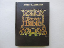 FAMILY ILLUSTRATED MEMORY BIBLE Volume 1 The Four Gospels ACCELERATED LEARNING