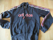 ADIDAS schöne Trainingsjacke grau Gr. 42 TOP SH616