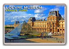 LOUVRE MUSEUM FRANCE PARIS FRIDGE MAGNET SOUVENIR NEW IMÁN NEVERA
