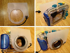 Spare Flash Diffuser Plate - Canon WP-DC9 WP-DC17 Underwater Housing Camera Case