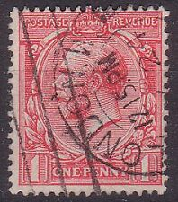 GREAT BRITAIN. 1912 SG419 1d red.Used.