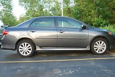 PAINTED COROLLA BODY SIDE MOLDINGS 2009 2010 2011 2012 2013