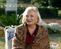 GENA ROWLANDS SIGNED AUTOGRAPHED 8x10 PHOTO THE NOTEBOOK PSA/DNA