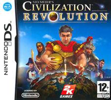 Videogame Civilization Revolution NDS