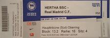 Ticket Friendly 2011/12 Hertha BSC Berlin vs. Real Madrid