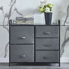 Fabric+Bedside+Table+Sofa+Side+Cabinets+Storage+Drawer+w%2F+Handle+Funiture+Decor
