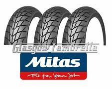 Set of 3 x MITAS (SAVA) MC20MONSUM 350 x 10 SCOOTER TYRES Lambretta, Vespa, LML