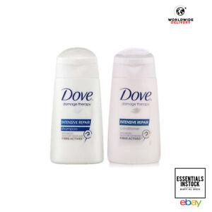 Dove Intensive Repair Mini Shampoo & Conditioner 50ml - Travel Size