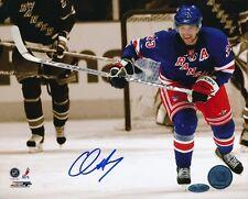 Chris Drury Rangers Signed 8x10 Photo Autograph Auto Steiner