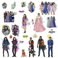 DESCENDANTS Isle of the Lost Disney movie wall stickers 24 decals MAL EVIE