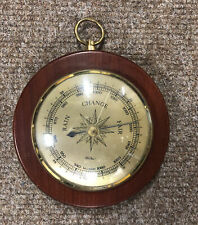 More details for fischer vintage barometer, 14cm diameter, slight crack in glass, uk seller