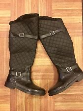 Rouge Helium Black Winter Boots Size 9