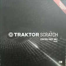 Traktor Scratch Vinyl Black x 1