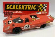 SCALEXTRIC 6017 PORSCHE 917 #23 VINTAGE  EXCELENTE CONDICION UNBOXED