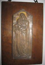 Domenico Mastroianni, Madonna con bambino, Scultura in terracotta. RARISSIMA.