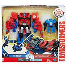 Transformers Robot in Disguise Combiner Force Activator Optimus Prime & Hi-Test