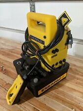 ENERPAC PUJ-1200B HIGH PRESSURE HYDRAULIC ELECTRIC PUMP 10,000PSI NEW out of box