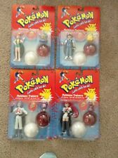 1998 HASBRO POKEMON TRAINERS FIGURE LOT  OF 4 SEALED