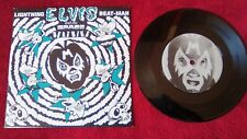 "Lightning Beat-Man And The Space Beatniks – Elvis, 7"", single, EP, 33 rpm"