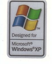 Designed for Windows/XP Technologie Sticker Aufkleber Badge