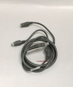 Symbol Barcode Scanner LS2208 PS2 KB Cable 25-62417-20 CBA