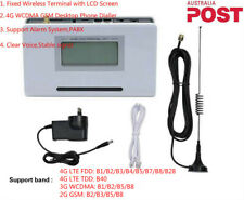 AU 4G Telephone Call Phone Line Dialler GSM Wireless Fixed Terminal Alarm System