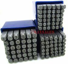 108pc 6mm & 4mm & 5mm Letter & Number Stamping Set Hardened Steel Metal Die