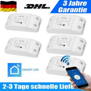 1-5 Basic Wifi WLAN Switch Smart Schalter für Alexa 2200W APP-Steuerung