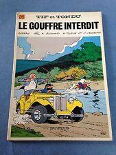 le gouffre interdit EO (1978) tif et tondu dupuis