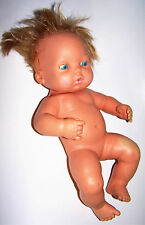 "Vintage 1972 New-Born Baby Tender Love Baby Doll by Mattel - 13"" Tall"