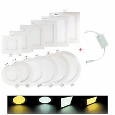 6W-21W Dimmable LED Recessed Ceiling Panel Down Light Bulb Warm/Cool White Lamp