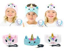 CozyPhones Kids Headphone Soft Headband Unicorn Volume Ltd Travel School At Home