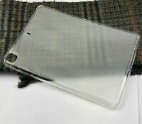 """For Apple iPad 7.9"""" Frosted Transparent Ultra-Thin Gel Silicone Case Back Cover"""