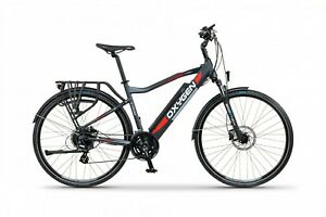 Oxygen S-Cross CB MK2 Electric Bike Black 2021 Model