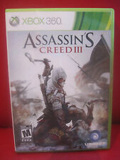 Assassin's Creed III (Microsoft Xbox 360, 2012) COMPLETE