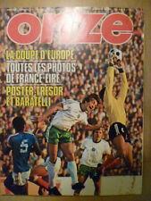 Football European Club European Cup Fixture Programmes (1970s)