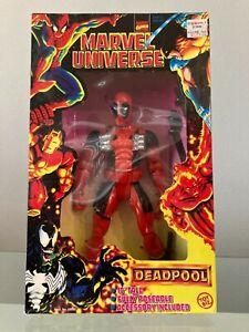 """Unique 10"""" Deadpool + 10"""" Wolverine Toy Biz Action figures"""