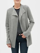 Banana Republic Women's Open Front Cardigan Heather Gray Size M
