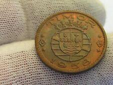 Timor 1958 30 Centavos BU! Nice UNC coin, 1 year type!