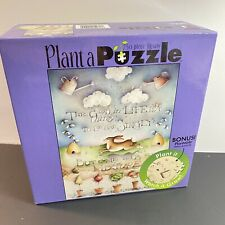 NEW 750 Piece Ceaco Plant a Puzzle The Good Things in Life Not Singly in Mixture