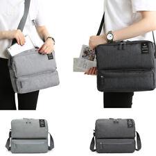 Women men Polyester Shoulder Cross Body Luggage Saddle School Laptop Bag