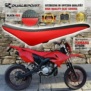 YAMAHA DT 50 R Sitzbezug, Seat Cover, Coprisedile RED für DT50R by DualSport FX