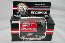 NHL DETROIT RED WINGS Mini Zamboni Stanley Cup Metal Die Cast Scale 1:50