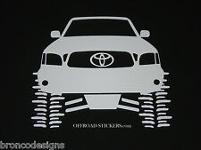 Toyota Tacoma Flexing_TRD_Lifted Rock Crawler_Sticker/Decal -20